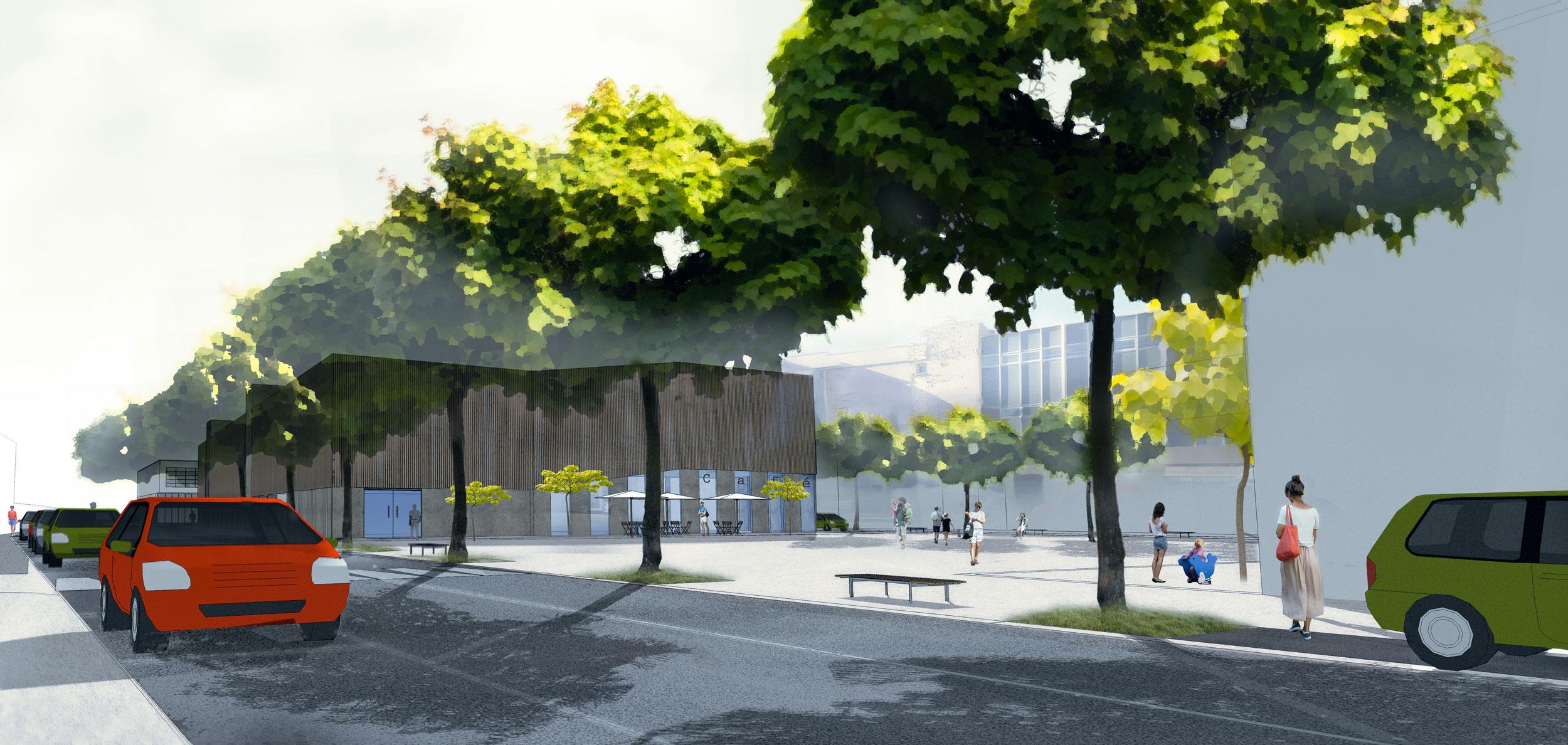 Urbanisme ref rences agence cot for Agence horizon paysage